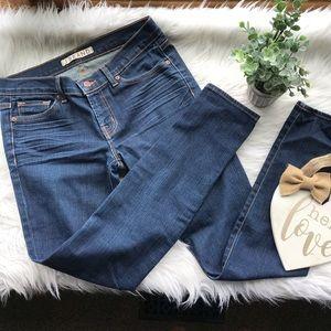 J Brand The Skinny Dark Wash Denim Jeans 27 Euc